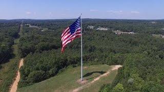 Video World's Largest Flying American Flag - Gastonia, NC download MP3, 3GP, MP4, WEBM, AVI, FLV Agustus 2018