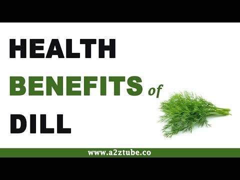 Health Benefits of Dill