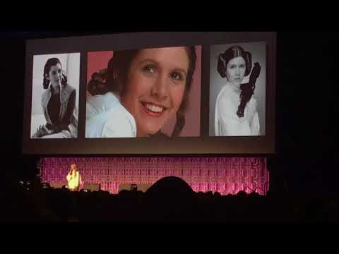 Star Wars: Billie Lourd's Emotional Tribute to Her Mother, Carrie Fisher, at Star Wars Celebration