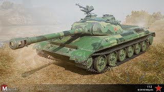 World of Tanks Console || Chinese carnage - 112 game play