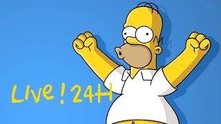 LIVE SIMPSON 24H ! FR (1080P)