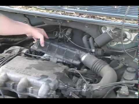 Dodge Ram Fuse Box How To Replace The Air Filter In A 1991 1995 Dodge Caravan