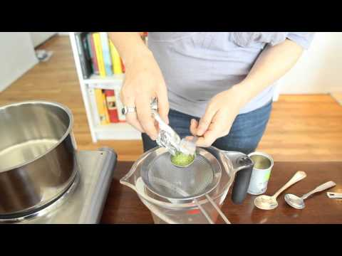 Krrb Presents Quick Tips -- How-to Make Green Tea Simple Syrup