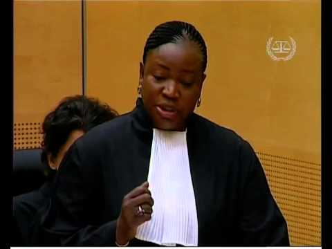 Ruto and Sang case: Office of the Prosecutor opening statements/PART 1, 10 September 2013
