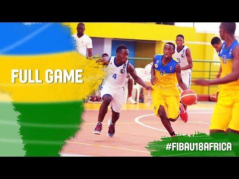 DR Congo v Rwanda - Full Game - CL 5-6 - 2016 FIBA Africa U18 Championship