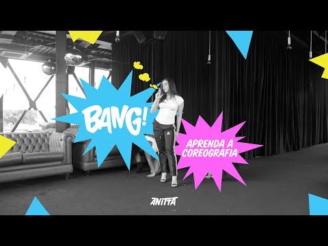 """É """"Bang"""" na veia! Anitta lança vídeo tutorial ensinando a coreografia do hit"""