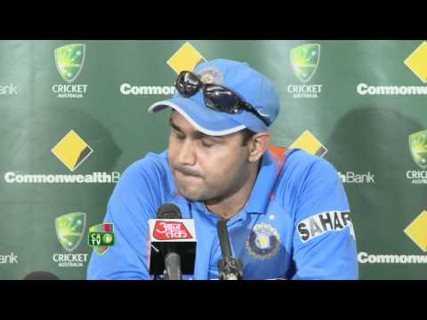 Feb 21st Virender Sehwag press conference