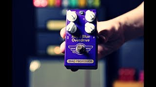 Mad Professor Royal Blue Overdrive Pedal (A Pedal From Finland)