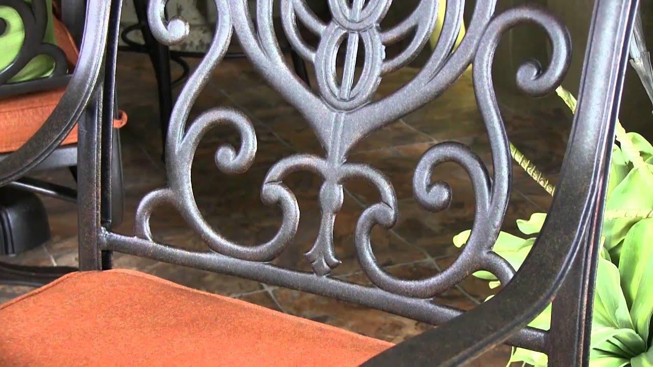 cast furniture master patio with aluminum hanamint newport tuscany