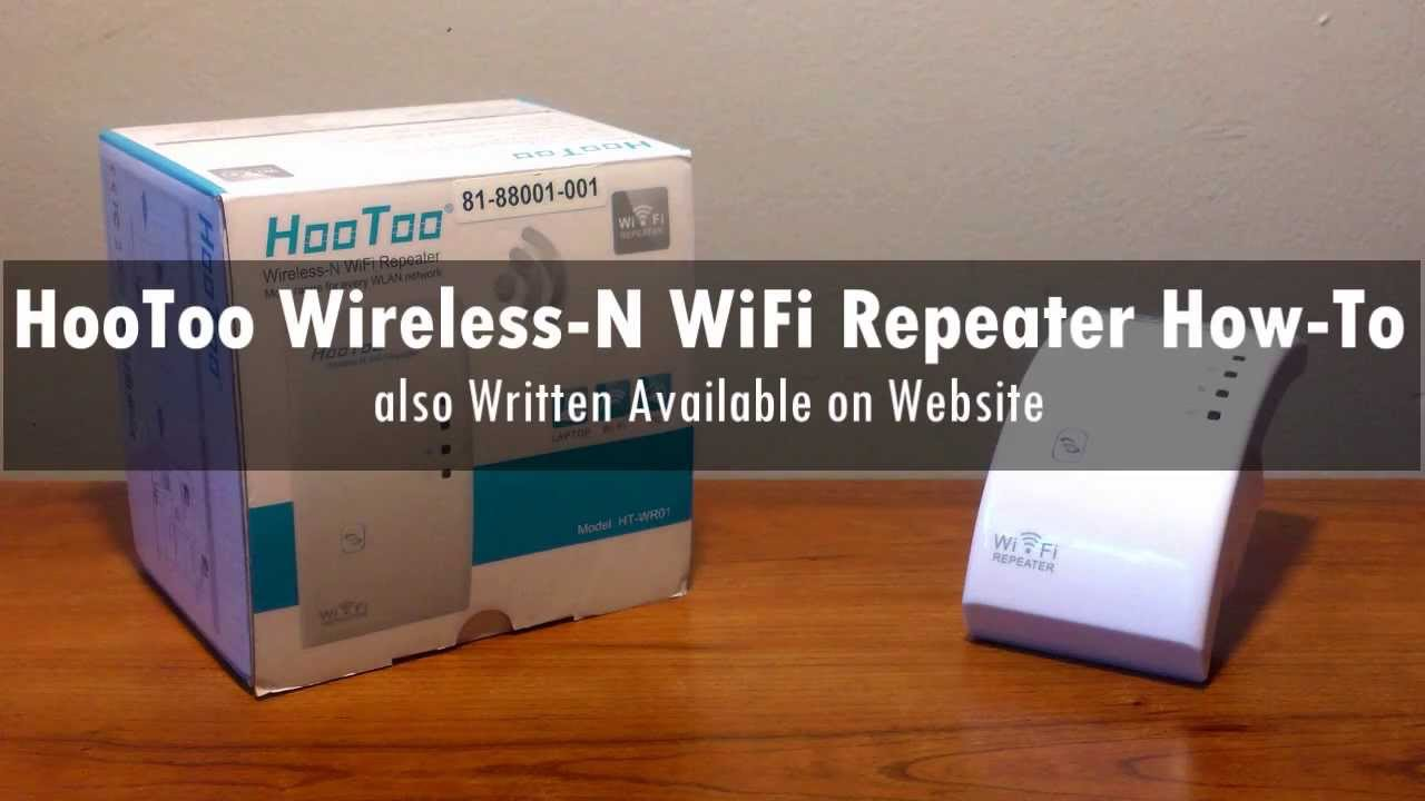 how to make a wifi repeater from scratch
