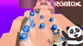 On a participé à des courses de mousquets ! C'est dur d'être le premier ! - Roblox Marble Sim Classic avec Panda