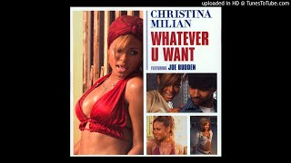 Christina Milian Feat. Joe Budden Whatever You Want Dj Mast Remix.mp3