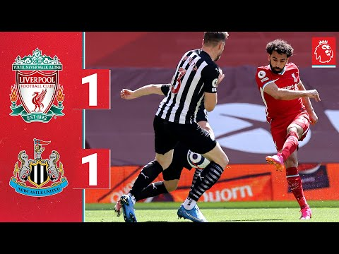 Highlights: Liverpool 1-1 Newcastle   Late equaliser cancels out Salah's volley