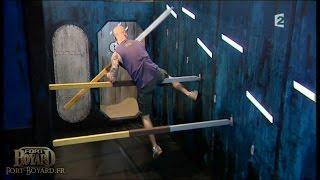 Fort Boyard 2009 - Matt Pokora dans l'épreuve des Marches en tubes