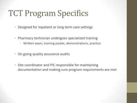 Tech Check Tech Program Presentation