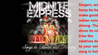 MIDNIGHT EXPRESS - SONG FOR THE SINGERS