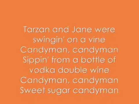 Candy Man - Christina Aguilera (Lyrics, On screen!!)