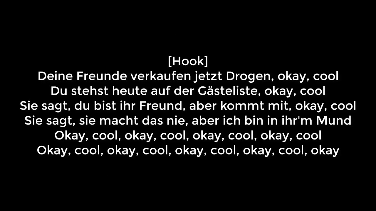 Yung Hurn - Ok Cool (Official Video) (prod. Stickle) | LYRICS DerDoxer