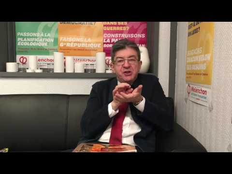 MÉLENCHON ON SPIRULINA, AN ALTERNATIVE TO MEAT PROTEINS