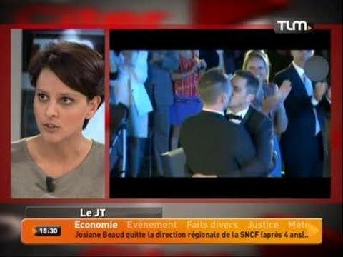 Najat Vallaud-Belkacem s'exprime sur le mariage gay