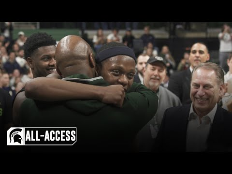 Wisconsin Vs Michigan State | Spartans All-Access | Men's Basketball