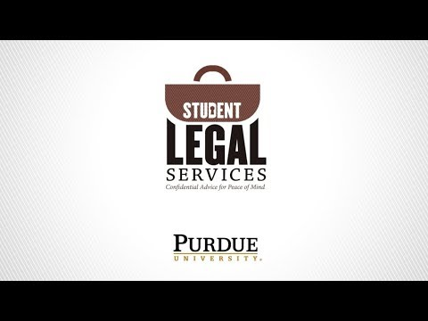 Purdue Student Legal Services - Renter's Rights