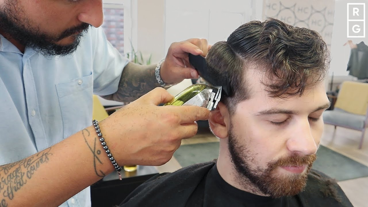 Men S Short Wavy Curly Haircut For Summer 2019 Youtube