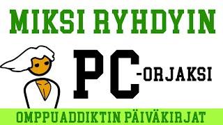 Taustatietoa PC-holistiksi joutumisesta (feat. Lupu)