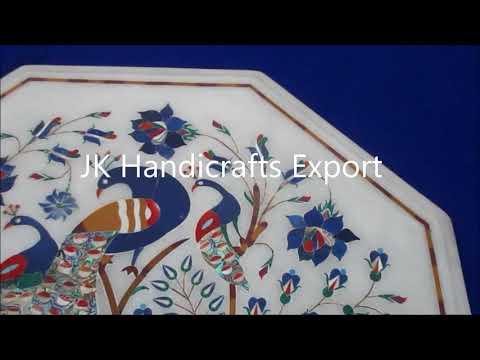 Marble Inlay Table Tops  Jk Handicrafts Export in Agra India