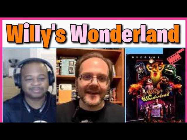 Willy's Wonderland Review | 2021 Streaming Film | SacTown Movie Buffs