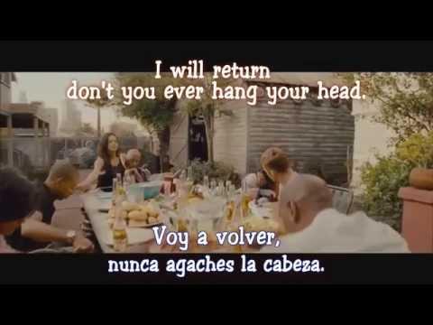 Skylar Grey - I Will Return (Subtitulada - Traducida al Español) (Rapidos y Furiosos 7 - Soundtrack)