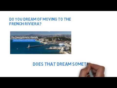 LIVE YOUR DREAM ON THE COTE D'AZUR