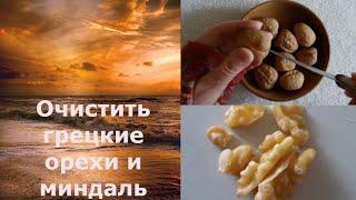 Как очистить и для чего использовать грецкие орехи и миндаль?