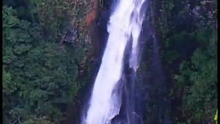 大分県宇佐市院内の西椎屋の滝です これは上の展望台から撮影しました。...