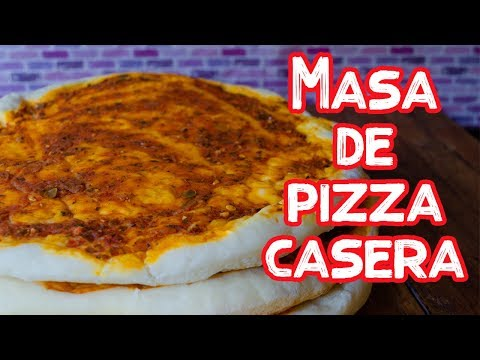 MASA DE PIZZA CASERA   MATIAS CHAVERO