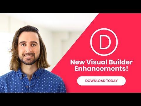 Divi Feature Update! Introducing New Visual Builder Interface Enhancements