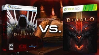 Diablo 3 - Сравнение графики PC vs. XBOX 360 vs. PS3