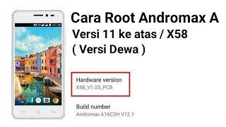 Cara Root Hp Andromax A Versi X58 / V11 keatas / Versi Dewa