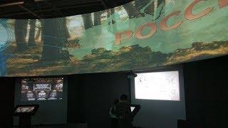 Смотреть видео Музей России, г. Южно-Сахалинск онлайн