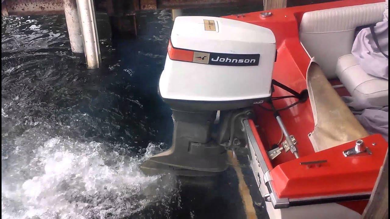 Duo tri hull loop charged 65hp johnson doovi for Johnson marine italia