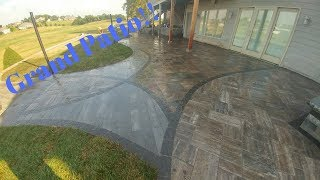 Grand Outdoor patio: timelapse