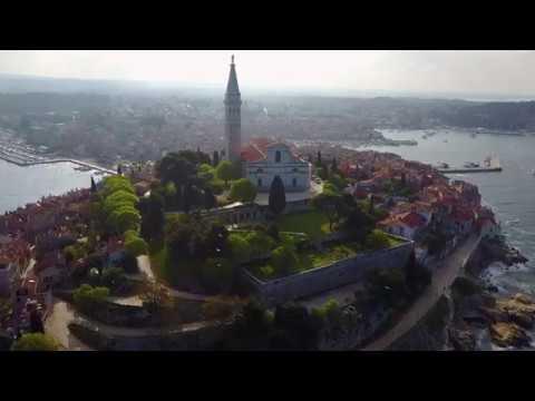 [4K] Croatia Rovinj Drone View (DJI MAVIC PRO)