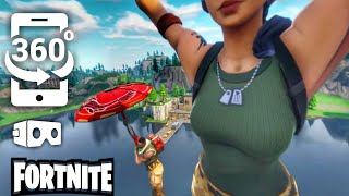 🔴 Girl Sky Diving in Fortnite but it
