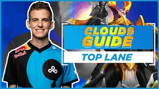 How to climb as a Top Laner in League of Legends! | Top Lane Guide with Cloud9 Licorice