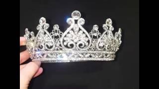 Свадебная корона для невесты 6,2 см