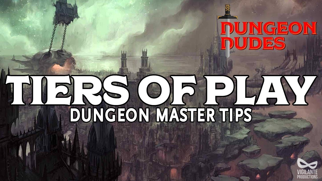 Tiers of Play in Dungeons & Dragons 5e