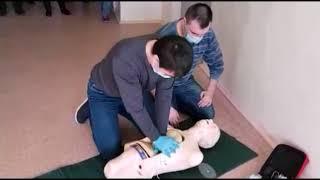 Обучение добровольцев-спасателей (Илим 2107г.)