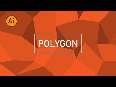 Illustrator Tutorial Workshop : วิธีสร้าง Polygon Background