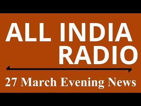 Evening News : 27 March