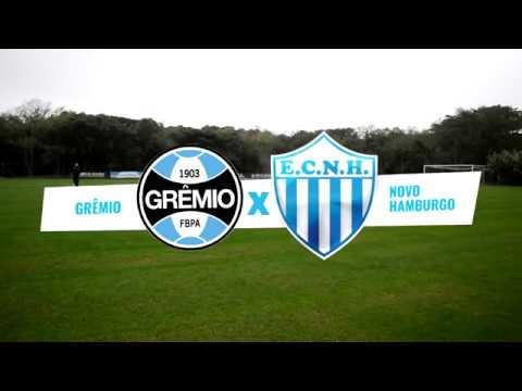 Replay Anilado - Gremio 1x0 Novo Hamburgo (Sub-20) - 30/06/18